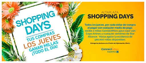 Shopping Days - Altaplaza Mall Panamá